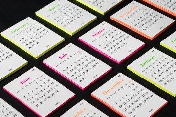 Xenos neon calendar 2018